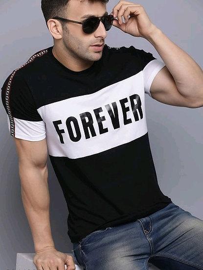 Exclusive Men's Cotton T-Shirt - Black