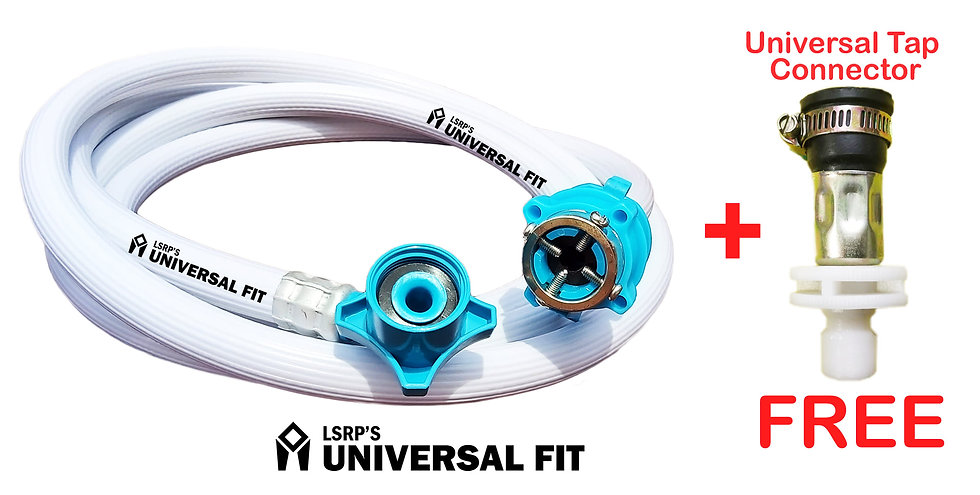LSRP's Universal Fit Washing Machine Inlet Pipe 5 Meter 6.2mm Thick