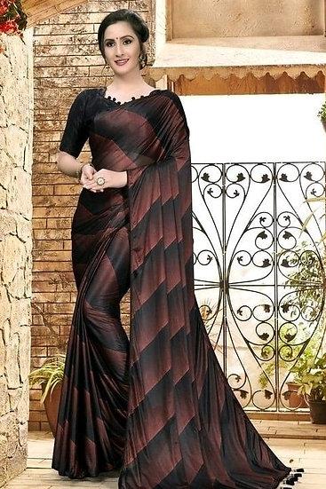 Sumptuous Printed Art Silk Saree