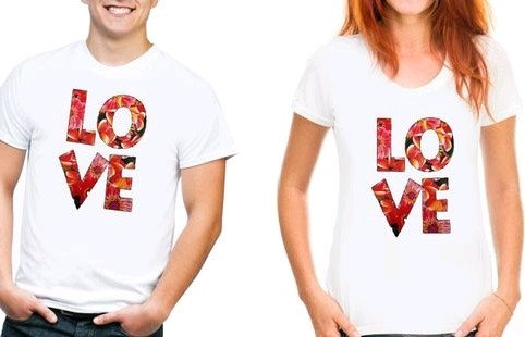 Lovely Couple Tshirts - Love