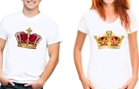 Gracious Couple T-shirts - King & Queen