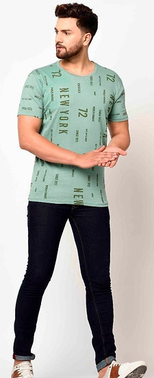 Dazzling Premium Men T-shirt - Olive Green