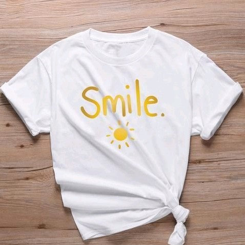 Comely Solid Cotton Women's Tshirts - White