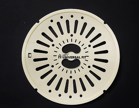 10.2 In / 26CM Spin Cap Suitable For LG 7.5KG To 8KG Washing Machines - Yellow