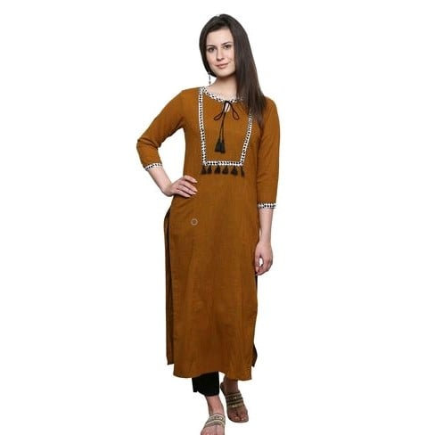 copy of Comely Yellow Cotton Kurti