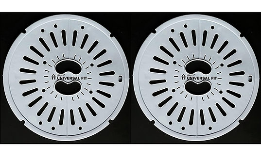 9.6 In / 24.5 CM Spin Cap Suitable For LG 6KG To 7KG Washing Machines - Grey