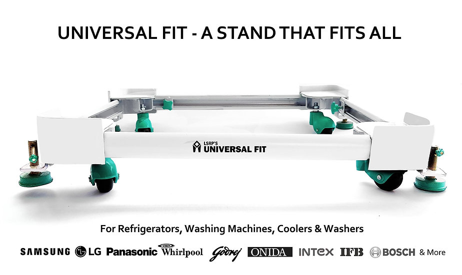 LSRP's Universal Fit – Real Heavy Duty Washing Machine Stand Cum Trolley