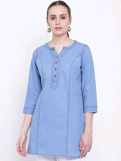 copy of Premium Denim Designer Tunic/Short Kurti