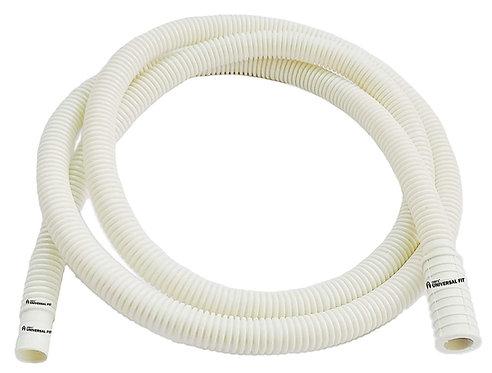 Semi Automatic Washing Machine Inlet Pipe - 1.5 Meter - Ivory White