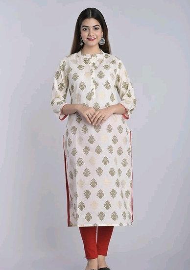 Ravishing Designer Cotton Kurti