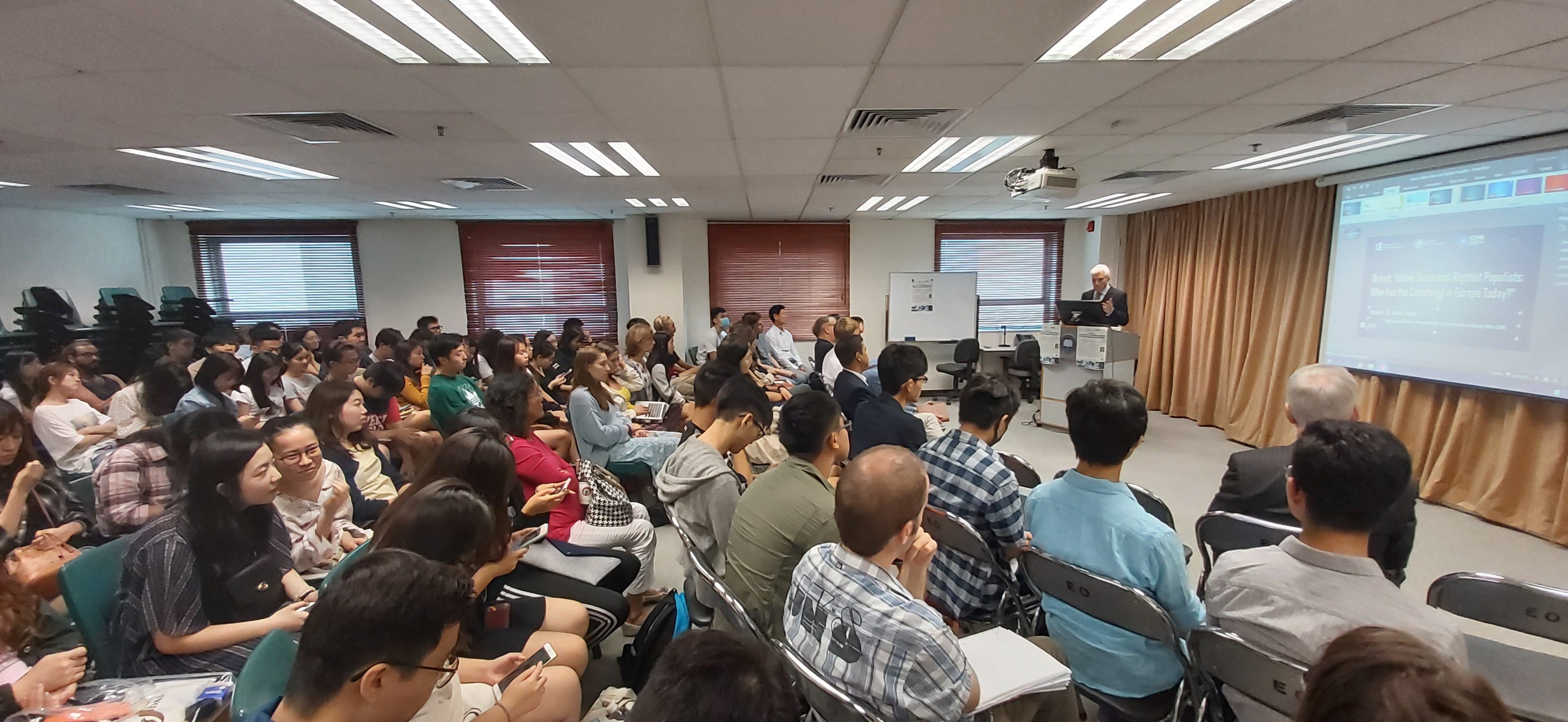 Guest Lecture by Dr. Volker Stanzel