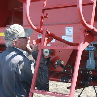 Adjusting the seeding rate