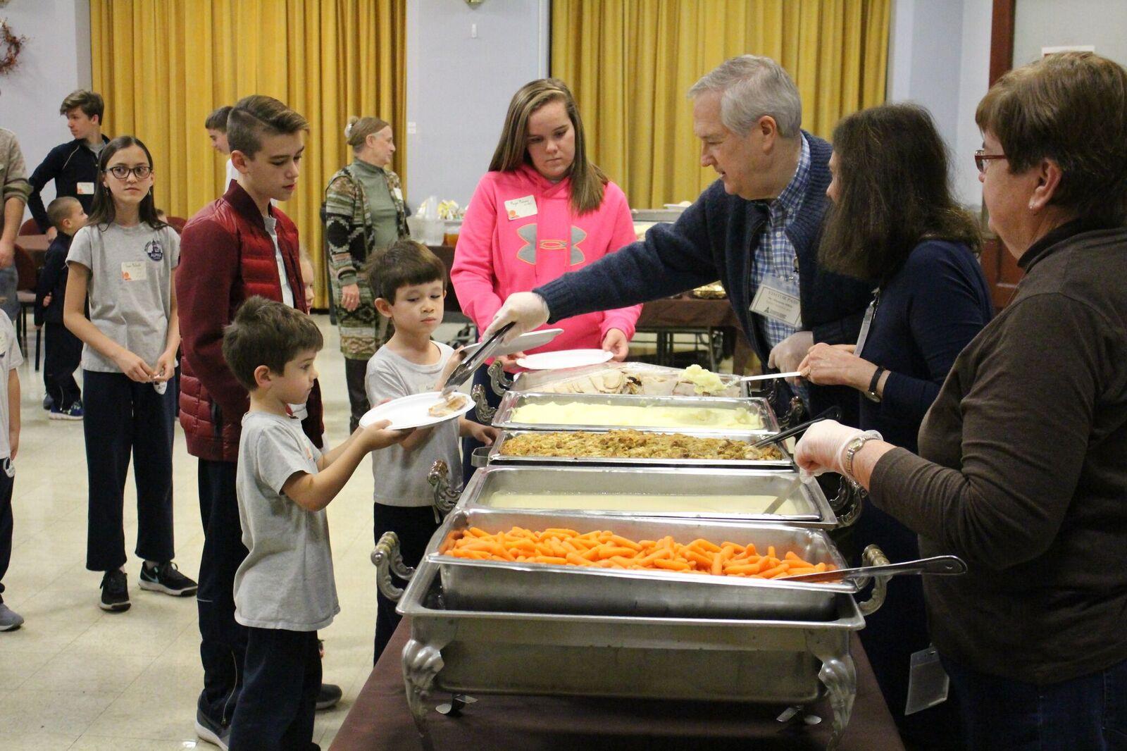TG feast serving