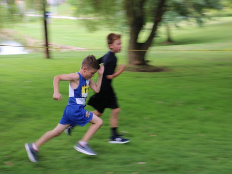 Alpha Eagles Cross Country Team runs another strong race.