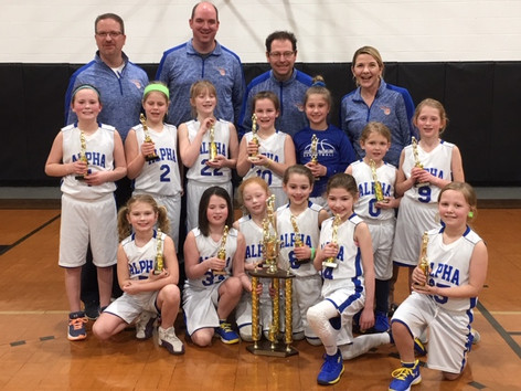 Girls Developmental Basketball Team wins TWO Championship Tournaments