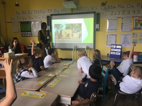 Alpha School Students Connect With Students in Africa