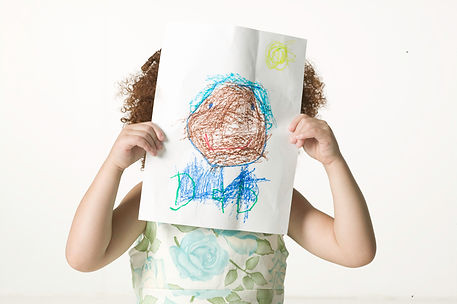 Girl with Drawing