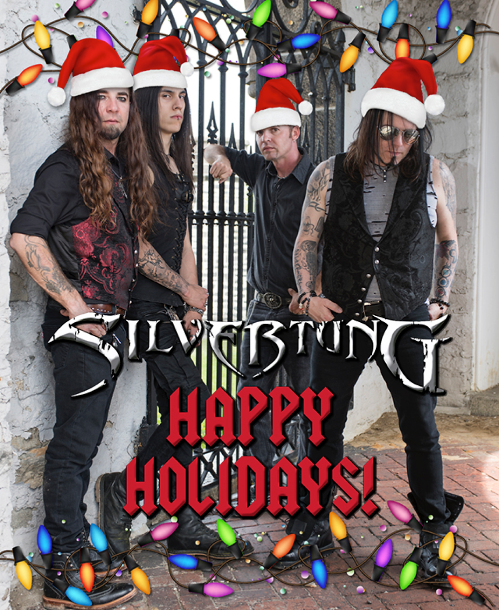 Happy Holidays, Christmas, Silvertung