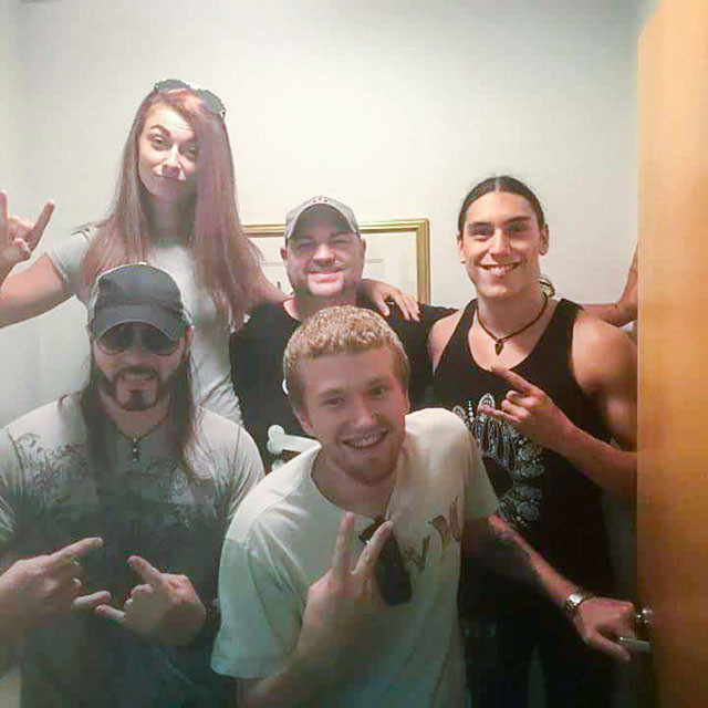 Silvertung with the Morning crew at WAMS 94.9 Delmarva's Music Source Radio Station.