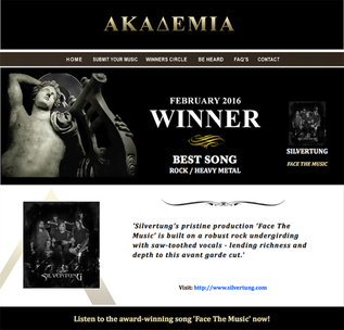 Best Rock / Heavy Metal Song for ǮFace The MusicǯPosted by TheAkademia.com