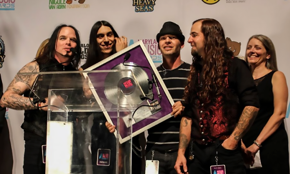 Silvertung - Breakout Artist of 2106 at the Maryland Music Awards