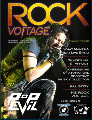 Silvertung in Rock Voltage magazine