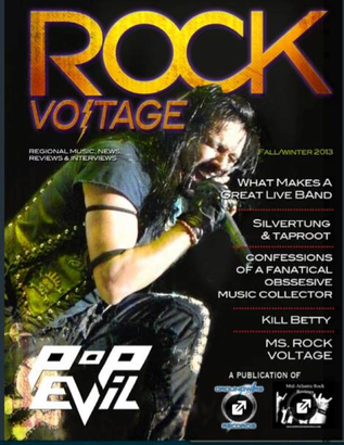 Silvertung in Rock Voltage magazine