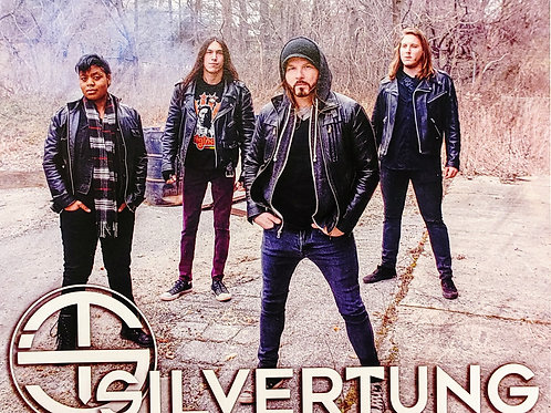 8x10 Silvertung Band Photo