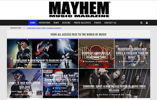 SILVERTUNG Releases New Single & Video for DzFace The MusicdzPosted by MayhemMusicMagazine.com