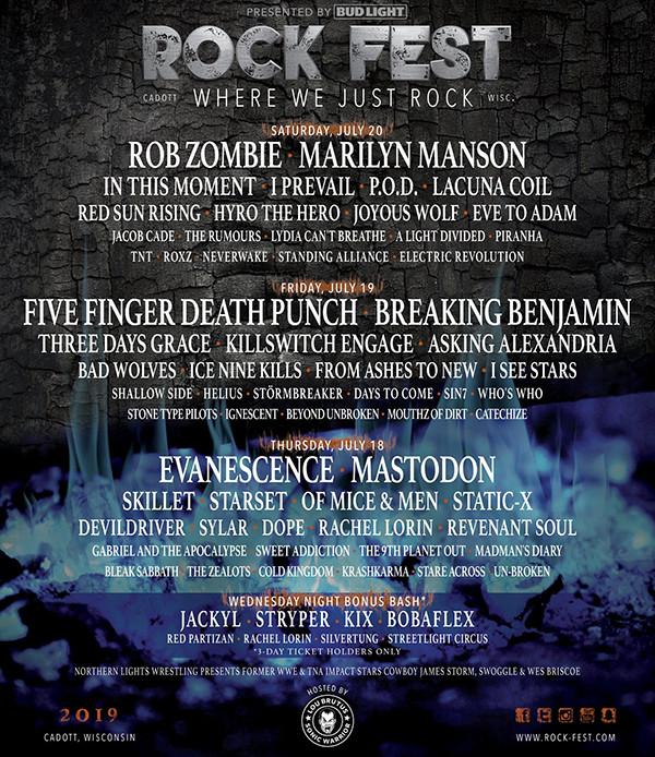 Rock Fest July 2019
