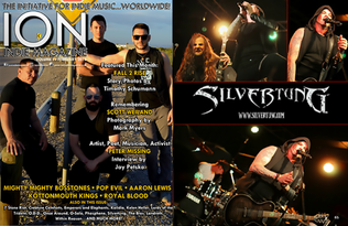 ION Magazine - Silvertung feature Posted by www.IONindieMagazine.com