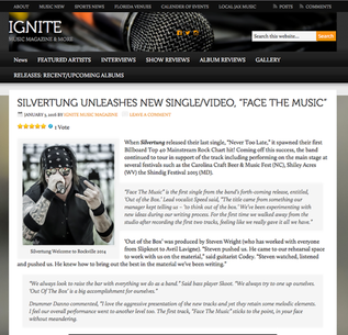 Ignite Magazine: SILVERTUNG UNLEASHES NEW SINGLE/VIDEO, DzFACE THE MUSICdzPosted by IgniteMusicMag.c