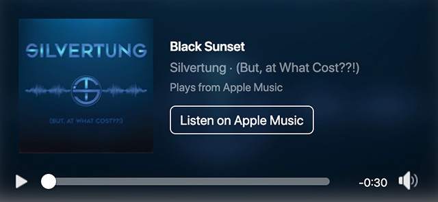 Black Sunset by Silvertung on iTunes