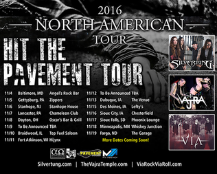 SILVERTUNG TO KICK OFF FIRST NORTH AMERICAN TOUR IN NOVEMBER