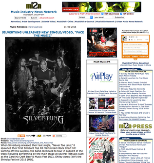 Silvertung Press Release/New Single/Video Posted by mi2n.com