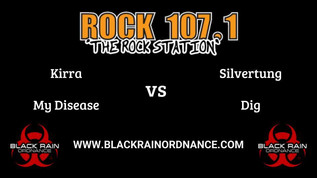 Rock 107.1 Kirra Face Off Against Silvertung!