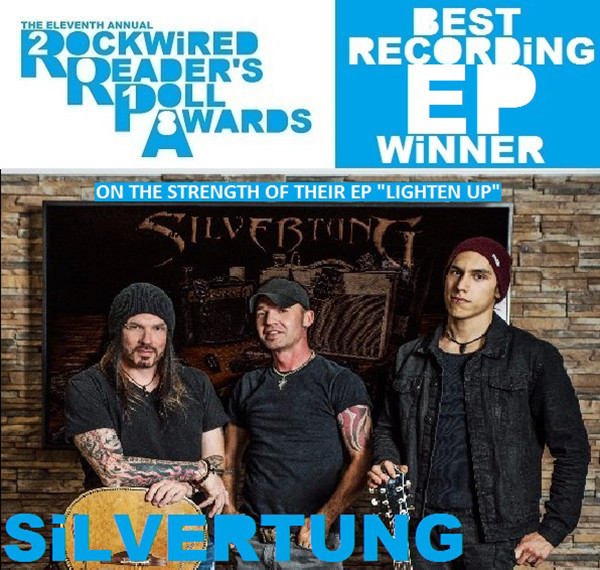 2018 Rockwired Reader's Poll Awards Silvertung!