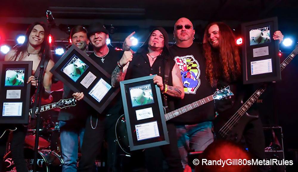 """Silvertung - """"Face The Music"""" Billboard Rock Radio Award"""
