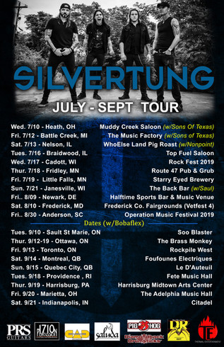 Silvertung On Tour