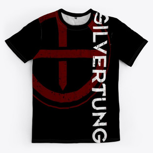 NEW MERCH ALERT! For a limited time we are releasing our first every SILVERTUNG DYE SUBLIMATION TEE