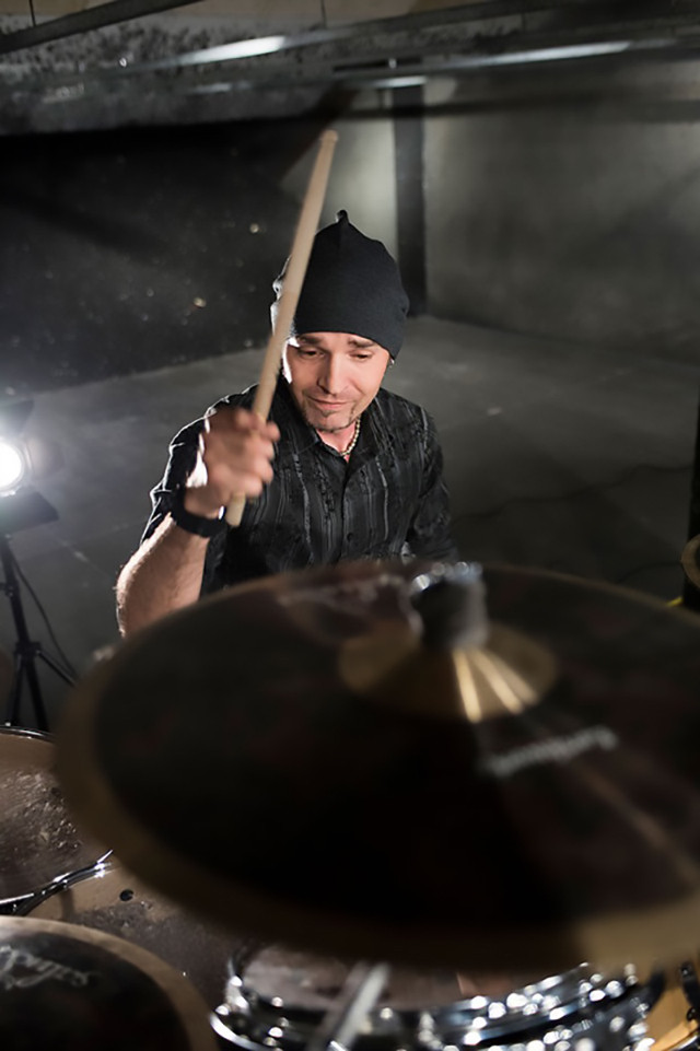 Danno drummer for Silvertung (hard rock band from Mid-Atlantic Dbsticks.com