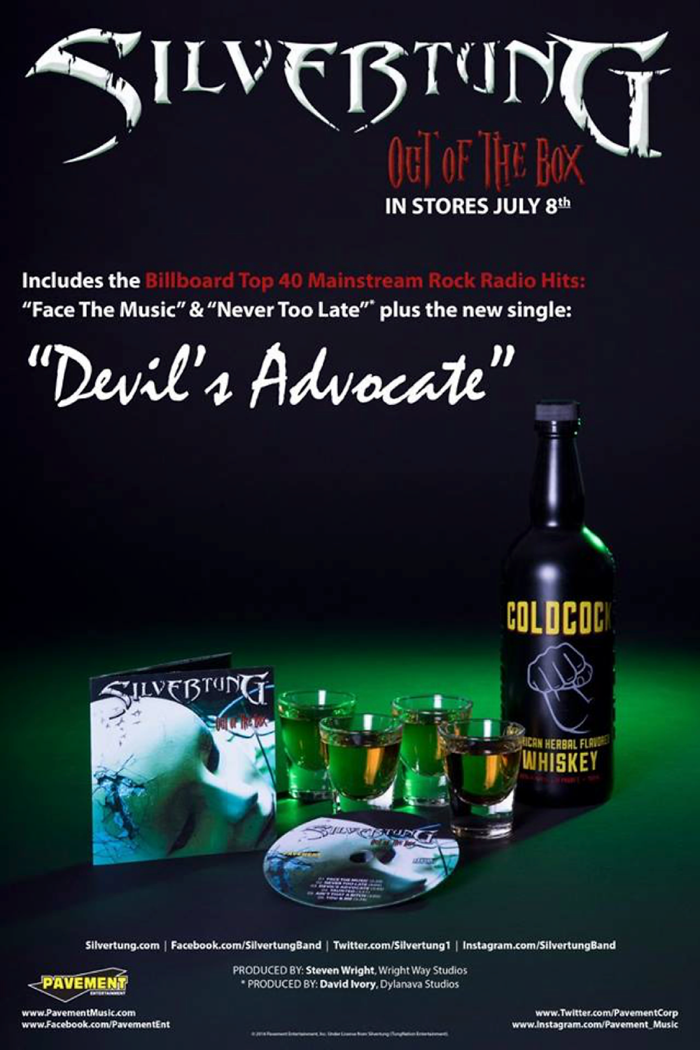 """Silvertung """"Devil's Advocate"""" new single from """"Out of the Box."""""""