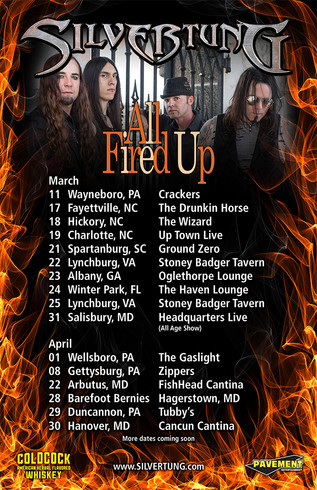 All Fired Up Tour 2017!