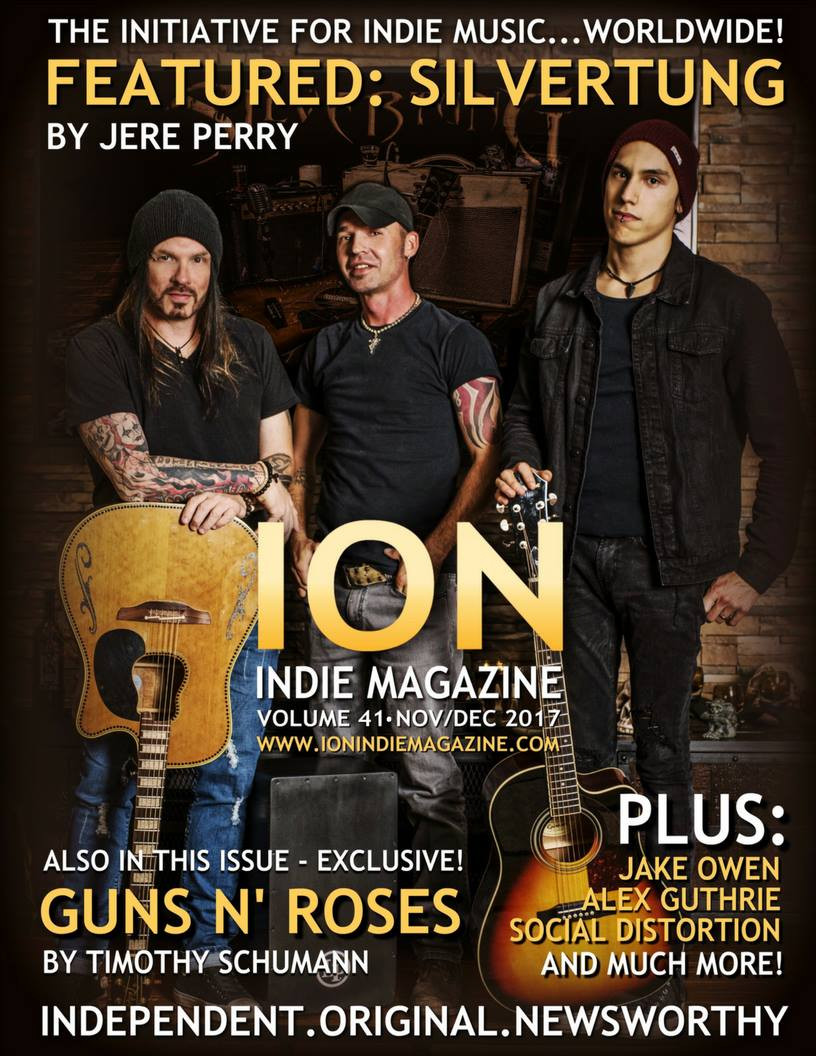 Silvertung - ION Indie Magazine Cover