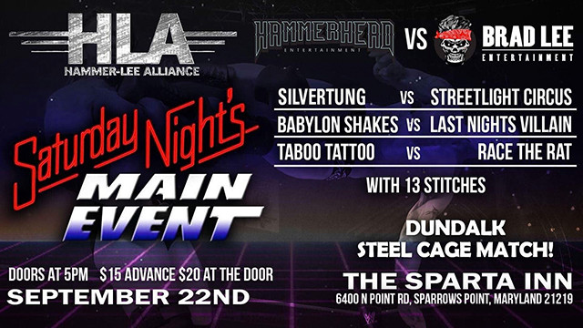 Steel Cage Match at the Sparta Inn