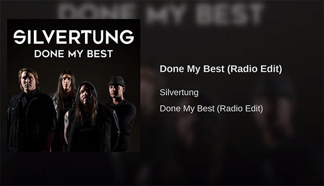 "Silvertung ""Done My Best"""