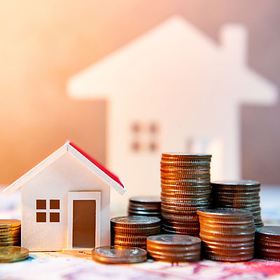 Real estate or property investment. Home