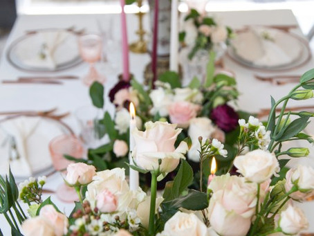 What should the bride select after the date and venue?