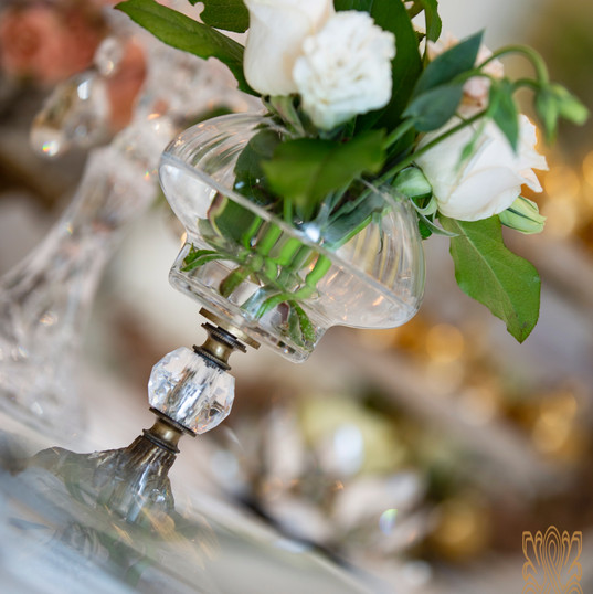 small white arrangements - Sofreh Aghd