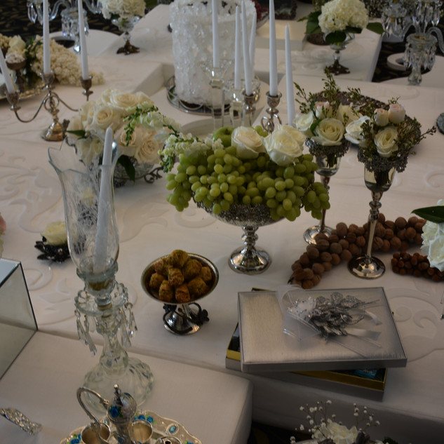 Fruits and Nuts - Sofreh Aghd - Evento
